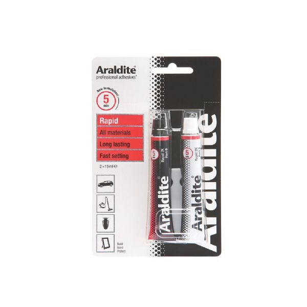 ARALDITE RAPID, glue piles, points and horn nocks